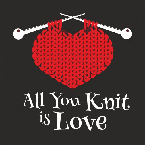 ALL YOU KNIT IS LOVE thumbnail