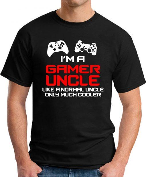 I'M A GAMER UNCLE black
