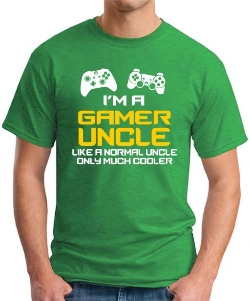 I'M A GAMER UNCLE green