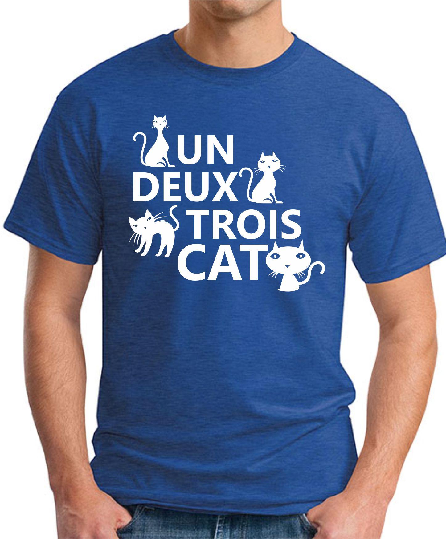 UN DEUX TROIS CAT royal blue