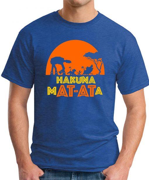 HAKUNA MAT-ATA royal blue