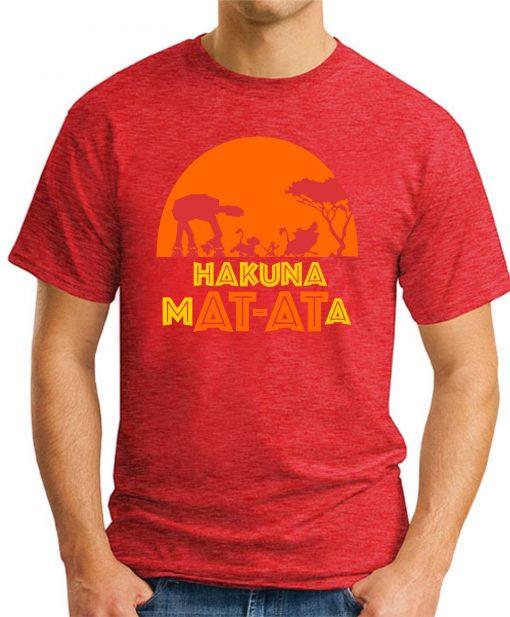 HAKUNA MAT-ATA red