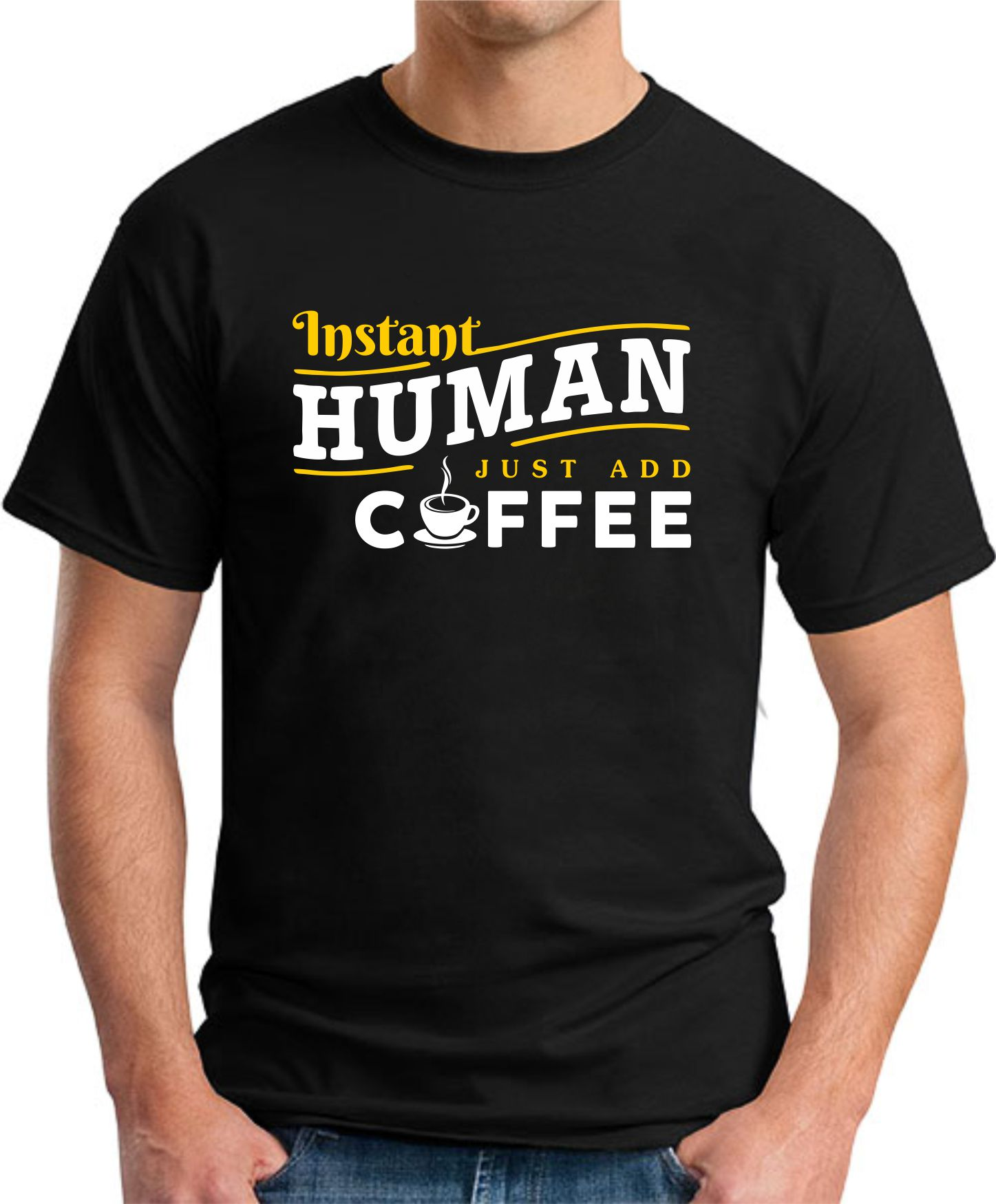 INSTANT HUMAN JUST ADD COFFEE dark heather