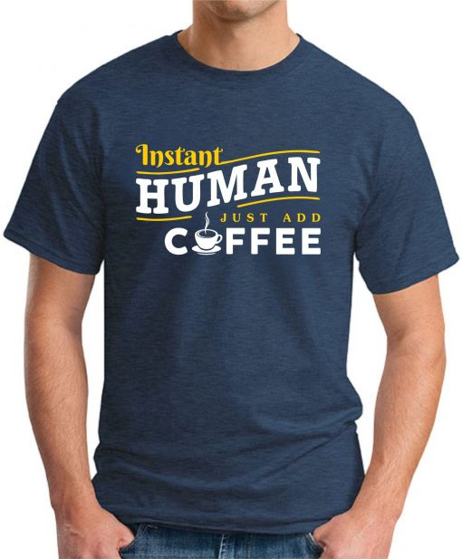 INSTANT HUMAN JUST ADD COFFEE navy