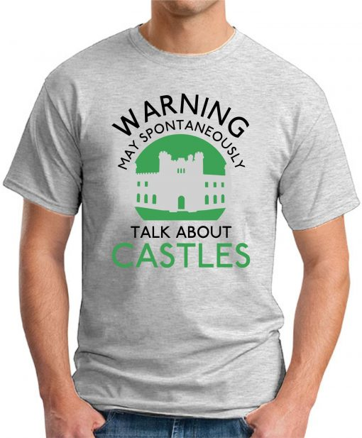 MAY SPONTANEOUSLY TALK ABOUT CASTLES ash grey