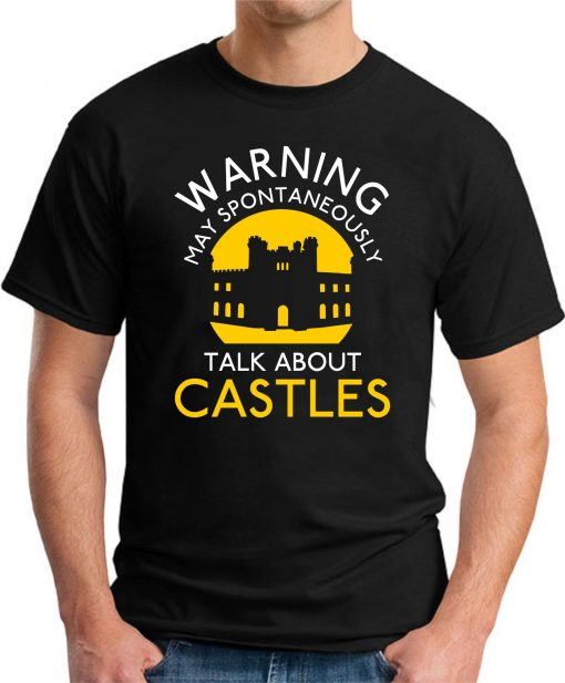 MAY SPONTANEOUSLY TALK ABOUT CASTLES black