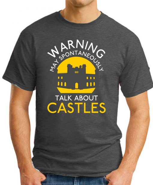 MAY SPONTANEOUSLY TALK ABOUT CASTLES dark heather