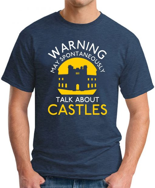 MAY SPONTANEOUSLY TALK ABOUT CASTLES navy