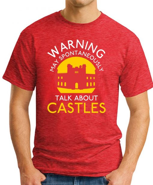 MAY SPONTANEOUSLY TALK ABOUT CASTLES red