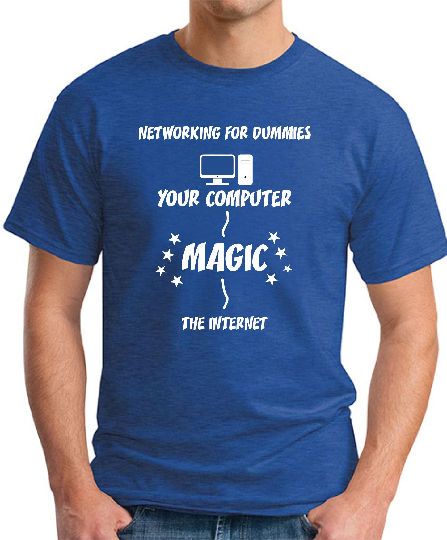 NETWORKING FOR DUMMIES royal blue