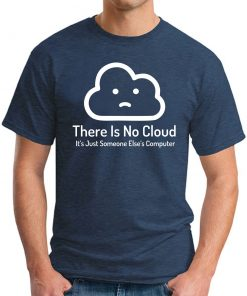THERE'S NO CLOUD navy