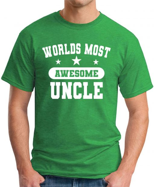 WORLDS MOST AWESOME UNCLE green