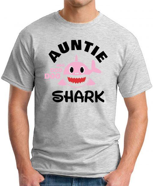 AUNTIE SHARK ash grey