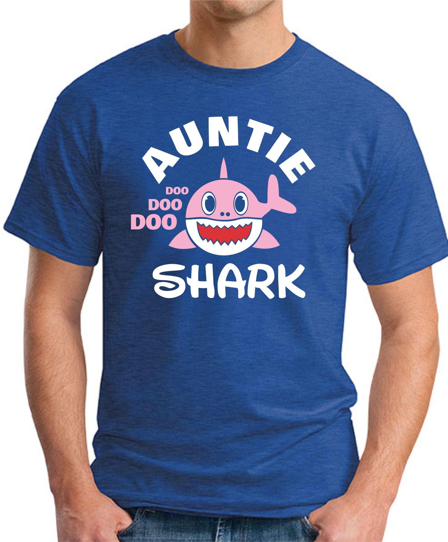AUNTIE SHARK royal blue