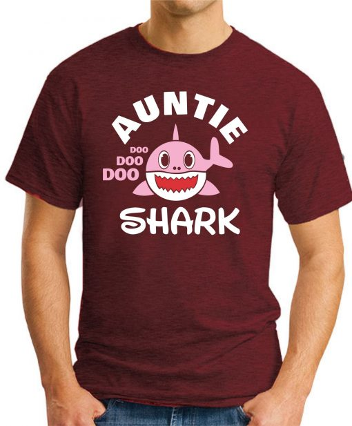 AUNTIE SHARK maroon