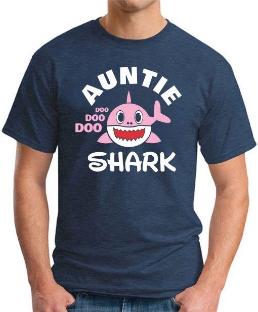 AUNTIE SHARK navy