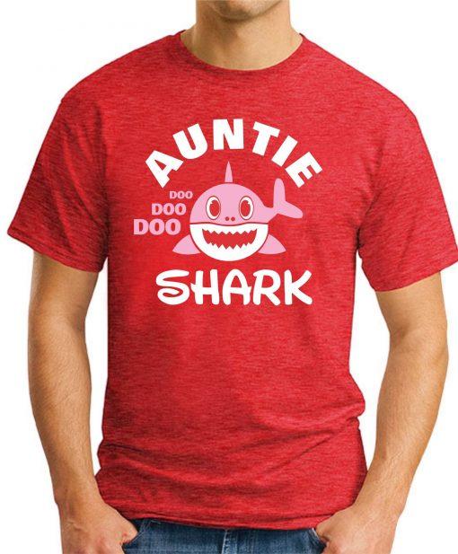 AUNTIE SHARK red