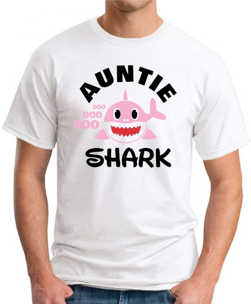 AUNTIE SHARK white
