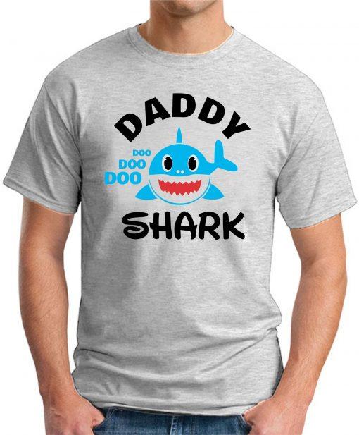 DADDY SHARK ash grey