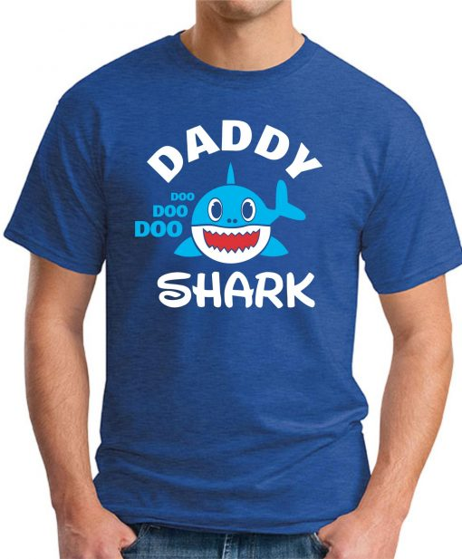 DADDY SHARK royal blue