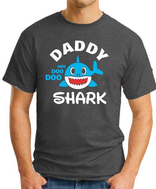 DADDY SHARK dark heather