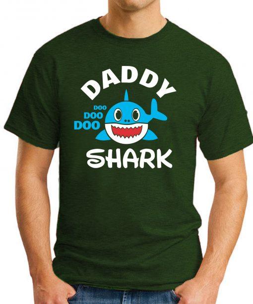 DADDY SHARK forest green
