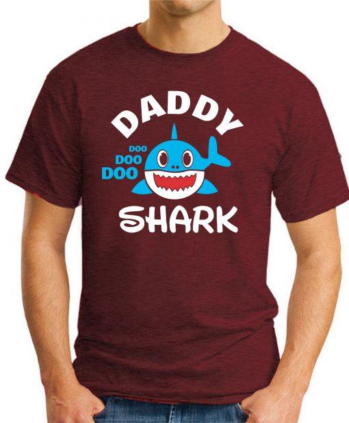 DADDY SHARK maroon