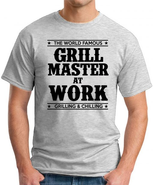 GRILL MASTER AT WORK ash grey