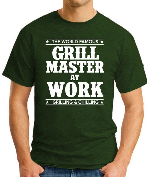 GRILL MASTER AT WORK forest green