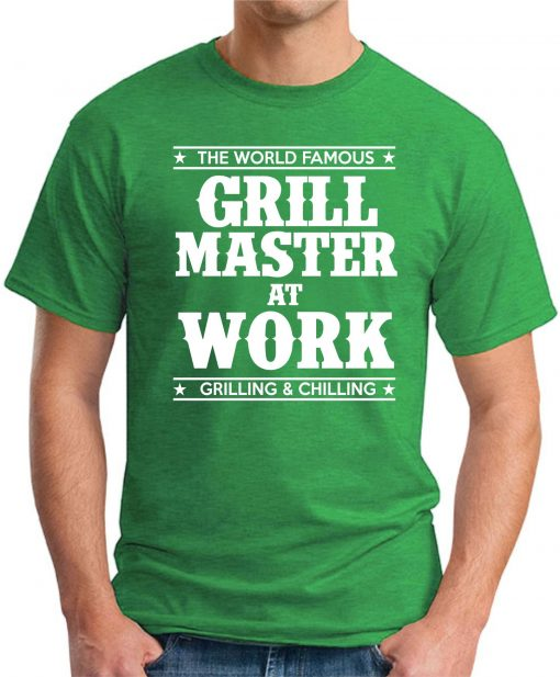 GRILL MASTER AT WORK green