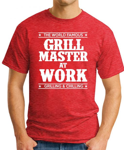 GRILL MASTER AT WORK red