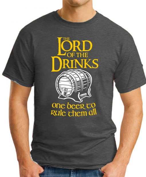 LORD OF THE DRINKS dark heather