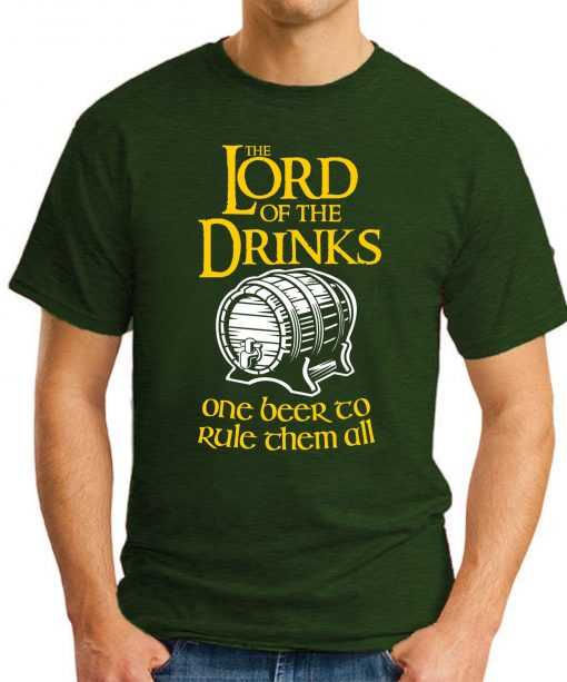 LORD OF THE DRINKS forest green