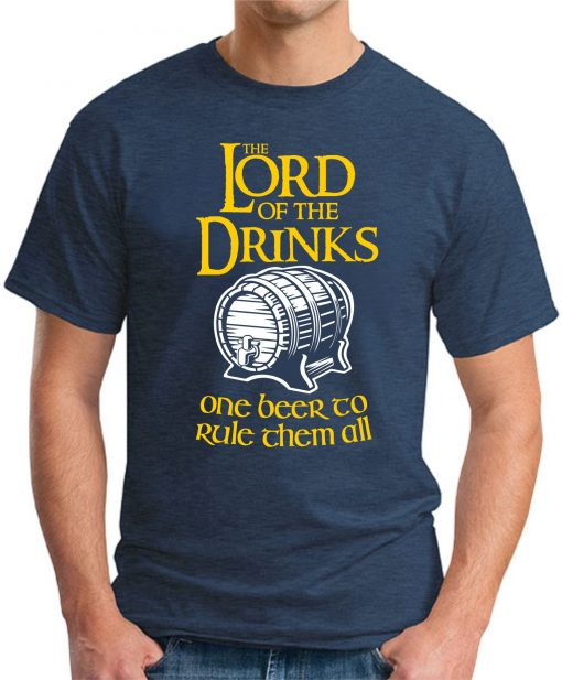 LORD OF THE DRINKS navy