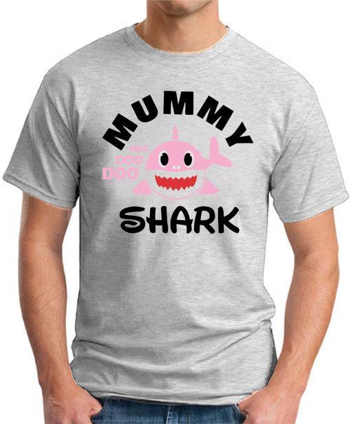 MUMMY SHARK ash grey