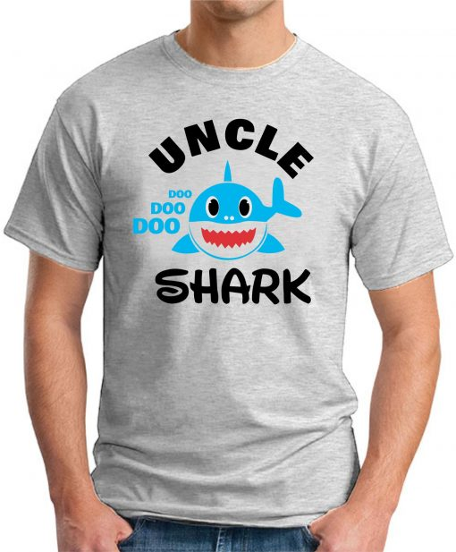 UNCLE SHARK ash grey