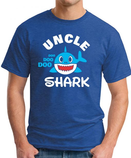 UNCLE SHARK royal blue