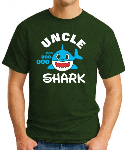 UNCLE SHARK forest green
