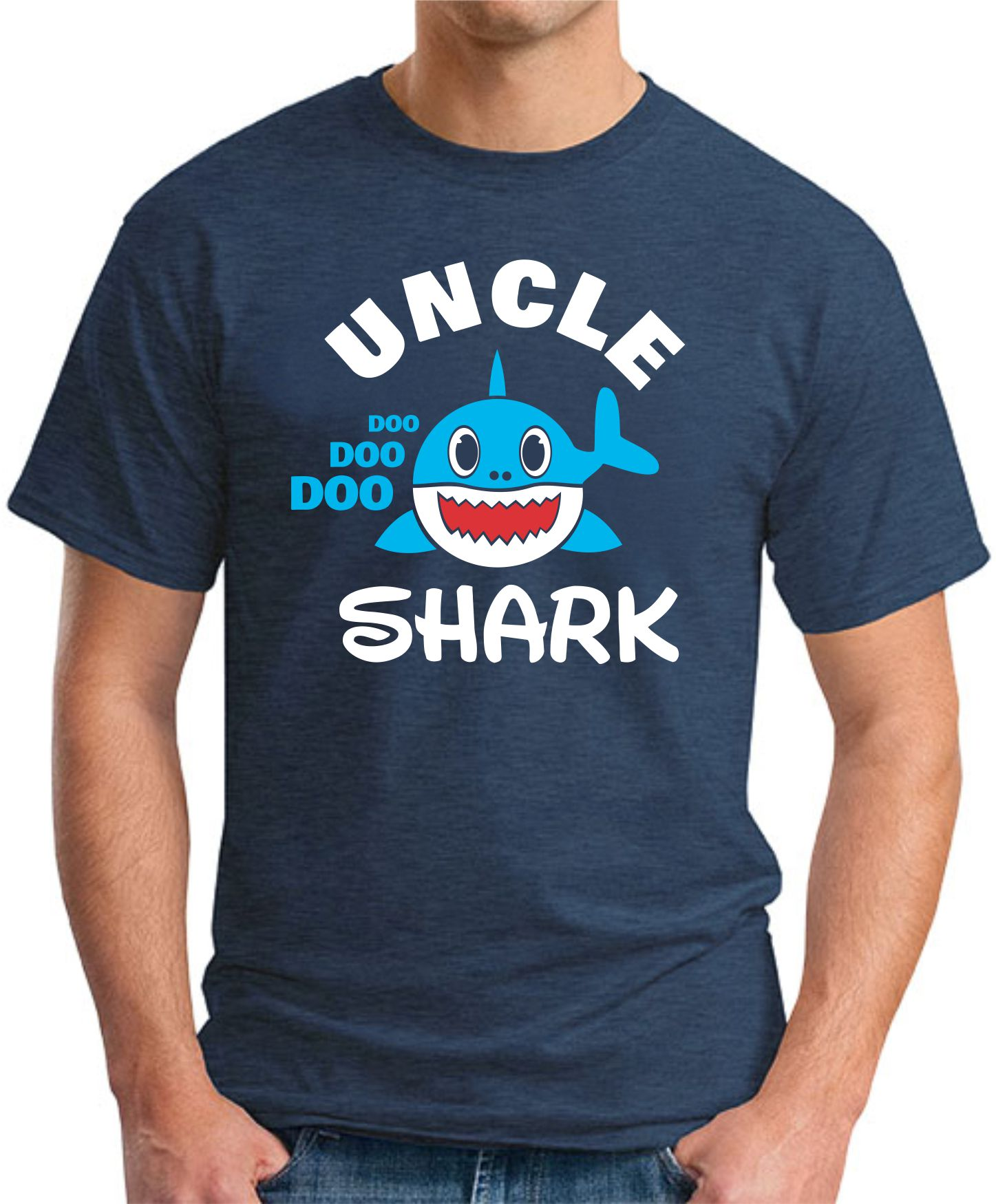 UNCLE SHARK navy