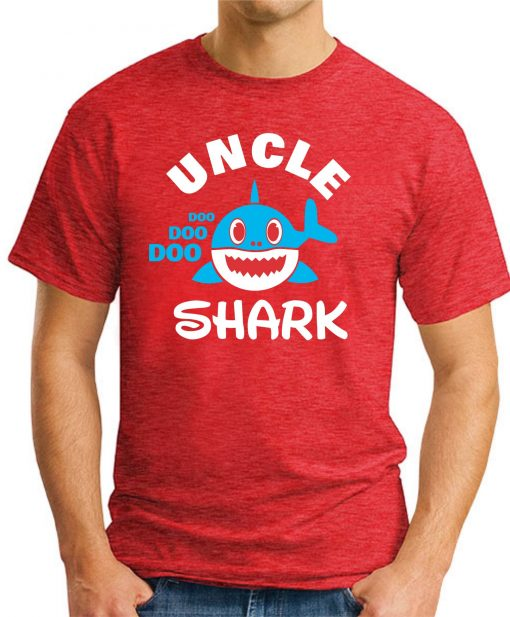 UNCLE SHARK red