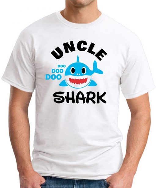 UNCLE SHARK white